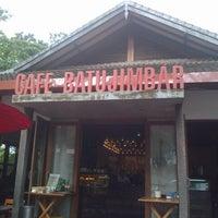 Photo taken at Café Batu Jimbar by Giulio S. on 6/15/2013