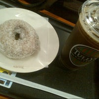 Photo taken at Tully's Coffee by AKIHIKO K. on 8/5/2013
