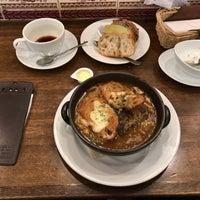 Photo taken at 進々堂 府庁前店 by Hiroki T. on 1/5/2018