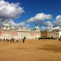 Photo taken at Horse Guards Parade by Vitaly P. on 10/4/2012