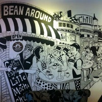 Photo taken at Bean Around Café by Margarita T. on 2/26/2013