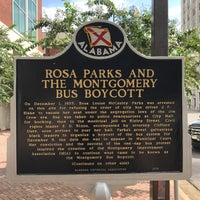 Photo taken at Rosa Parks Library and Museum by Erik G. on 8/27/2017