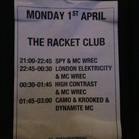 Photo taken at Racket Club by LISA on 4/1/2013
