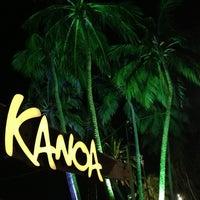 Foto tirada no(a) Kanoa Beach Bar por Nelia A. em 4/7/2013