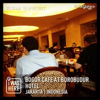 Photo taken at Bogor Cafe by Ferry T. on 4/12/2013
