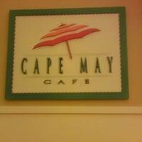 Photo taken at Cape May Cafe by Jenn ❤️☀️👙🌴🍷🐾 B. on 1/14/2013