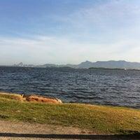 Photo taken at Praia de São Bento by Alessandro Ribeiro F. on 12/4/2012