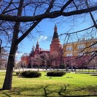 Photo taken at Aleksandrovskiy Garden by Grigory B. on 4/26/2013