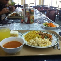 Photo taken at Haradh Dining Hall by Hassan A. on 12/21/2012