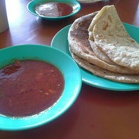 Photo taken at Roti Canai Taman Ria by Wisam J. on 12/7/2015