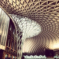 Photo taken at London King's Cross Railway Station (KGX) by Chris M. on 3/8/2013