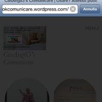 Photo taken at Ok Comunicare (Ufficio CasAng83'Comunicare) by Angela C. on 3/13/2014