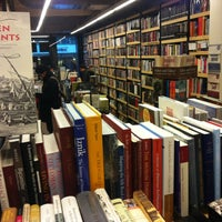 Photo taken at Pandora Bookstore by Ali J. on 11/26/2012