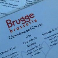 Photo taken at Brugge Brasserie by Jen G. on 7/24/2013