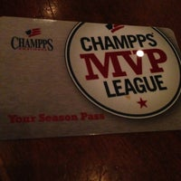 Photo taken at Champps by Haitham on 2/21/2013