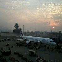 Photo taken at Terminal 2 by Wen H. on 11/1/2012