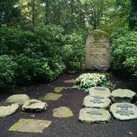 Photo taken at Waldfriedhof by Wen H. on 9/1/2014
