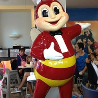 Photo taken at Jollibee by Joan E. on 12/29/2012