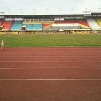Photo taken at Cebu City Sports Center by ayyamwiLna on 10/16/2012