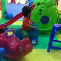Photo taken at Dolphin Funland Cimanggis Square by ryo c. on 11/26/2013