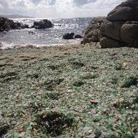 Photo taken at Praia dos Cristais by Alba D. on 7/27/2013