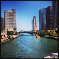 Photo taken at Michigan Avenue Bridge by Nickerson on 6/30/2013
