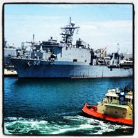 Photo taken at Naval Station San Diego by Diego G. on 12/7/2012