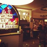 Photo taken at Café Leffe by Elena K. on 3/9/2013