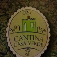 Foto tirada no(a) Restaurante Casa Verde por Luiz Cláudio G. em 12/15/2012