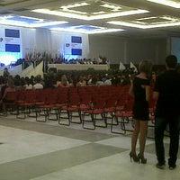 Photo taken at Centro de Convenções de Natal by Angélica A. on 1/28/2013