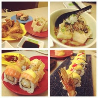 Photo taken at Hei Sushi by Nurul A. on 4/4/2013
