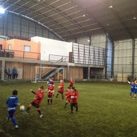 Photo taken at New Soccer by Emil C. on 8/30/2014