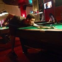 Photo taken at Dado Club Billiard by Mihaela D. on 4/26/2014