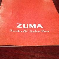 Photo taken at Zuma Sushi Bar by Sara on 9/20/2012