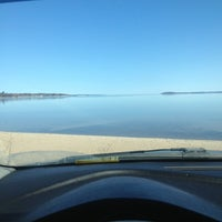 Photo taken at Elmwood Beach by Caitlin E. on 3/29/2013