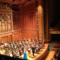 Photo taken at New England Conservatory's Jordan Hall by Phillip K. on 3/7/2013