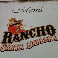 Photo taken at Rancho Santa Bárbara by Cesar V. on 11/29/2012