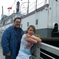 Photo taken at The Snagboat W.T. Preston by Stacie S. on 9/14/2013