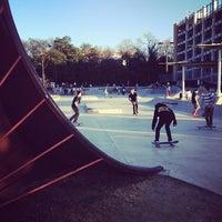 Photo taken at House Park Skatepark by Jeff N. on 1/18/2014