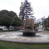 Photo taken at Plaza de Armas by Robinson H. on 4/4/2013