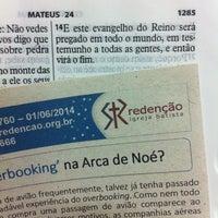 Photo taken at Igreja Batista Redenção - IBR by Marco A. on 6/1/2014