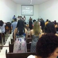 Photo taken at Igreja Batista Redenção - IBR by Marco A. on 10/19/2014