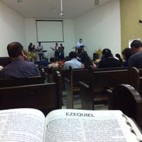 Photo taken at Igreja Batista Redenção - IBR by Marco A. on 12/14/2014