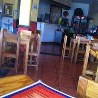 Photo taken at Pozoleria Matamoros by Juan Manuel G. on 12/10/2012