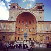 Photo taken at Vatican Museums by Filip A. on 5/30/2013