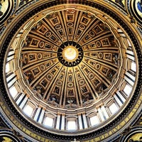 Photo taken at St. Peter's Basilica by Filip A. on 6/4/2013