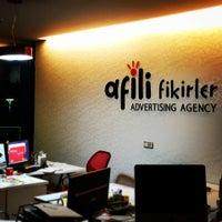Photo taken at Afili Fikirler Advertising Agency by Tarık G. on 12/11/2014