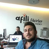 Photo taken at Afili Fikirler Advertising Agency by Tarık G. on 9/12/2015