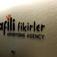Photo taken at Afili Fikirler Advertising Agency by Tarık G. on 6/12/2015