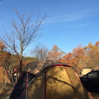 Photo taken at 山鳥の森オートキャンプ場 by akkun311 on 11/22/2014